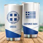 3D All-over Printed Tumbler 'Greece' Yirado-X1