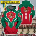3D All-over Printed Apparels 'Mexico' Crovell-X6