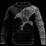 Vikings The Raven of Odin Tattoo