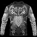 Vikings Odin Tatoo Style