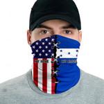 3D Neck Gaiter Men & Women 'Honduras By Blood, American By Birth' Nuzoria-X1