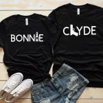 Bonnie & Clyde Black Shirts