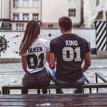 King & Queen 01 Shirts