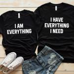 Everything I need Black Shirts