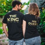 Black King & Queen Shirts