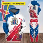 3D All-over Printed Apparels 'Iceland' Crovell-X10
