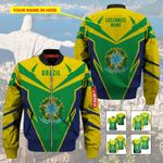 3D All-over Printed Apparels 'Brazil' Crovell-X8