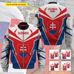 3D All-over Printed Apparels 'Slovakia' Crovell-X8