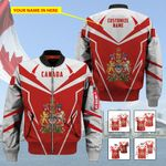 3D All-over Printed Apparels 'Canada' Crovell-X8