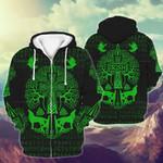 3D-printed Apparels 'Irish' green pattern  - Limited edition