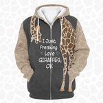 I just freaking love Giraffes - Limited  edition