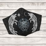 Wolf Art facemask - limited edition