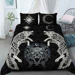 Wolf Vikings bedding set - Limited edition