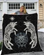 Wolfs Vikings 3D Quilt - New Design