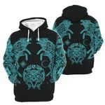 Wolf Vikings 3D Apparel Ver Blue light color - Limited  edition