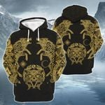 Wolf Vikings 3D Apparel Ver Yellow light color - Limited  edition