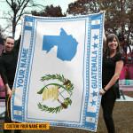 3D All-over Printed Fleece Blanket 'Guatemala' Odesea-X1