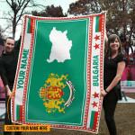 3D All-over Printed Fleece Blanket 'Bulgaria' Odesea-X1