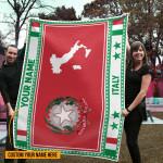 3D All-over Printed Fleece Blanket 'Italy' Odesea-X1