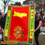 3D All-over Printed Fleece Blanket 'Portugal' Odesea-X1