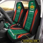 Car Seat Covers (Set of 2) 'Bulgaria' Cranid-X2