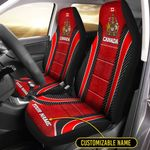 Car Seat Covers (Set of 2) 'Canada' Cranid-X2