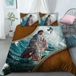 3D Apparel & Bedding Set - There Is Power In The Name Of Jesus