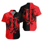 3D Apparel & Bedding Set - Dragon (Black and Red)