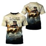 3D All-over Printed - I Ask God For A True Friend - Rottweiler
