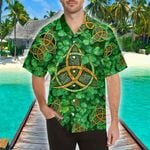 3D Hawaii Shirt - St Patrick's Day - Shamrock