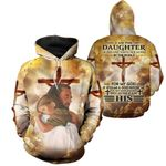 3D All-over Printed - Christian - I am The Daughter Of The King