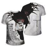3D All-over Printed - Christian - I am On Team Jesus
