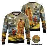 3D All-over Printed - Christian - Know Jesus Know Peace