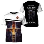 3D All-over Printed - Christian - Let Your Faith Be Bigger Than Your Fear