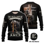 3D All-over Printed - Christian - The Devil Saw Me