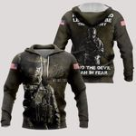 3D All-over Printed - US Army - And God Said Let There Be The US Army