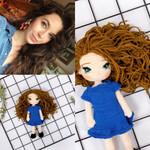 Custom Mini-Me Crochet Gift - 15''