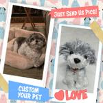 Custom Crochet Pet - 15''