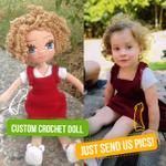 Custom Kid Crochet Gift - 15''