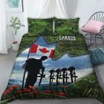 3D Bedding Set - Canada Veteran (Blue)