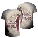 3D All-over Printed - Christian - Heaven Know My Name