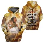 3D All-over Printed - Christian - God Send Me My Smartass Daughter