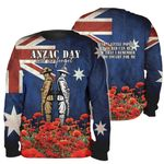 All-over Printed - Lest we forget Soldier Version
