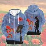 All-over Printed - Lest we forget NZ Version