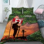 3D Apparel & Bedding Set - Lest We Forget - Canada Veteran