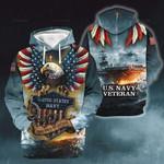 3D All-over Printed - US Navy veteran