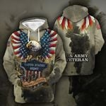 3D All-over Printed - US Army veteran