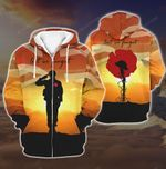 All-over Printed - Lest We Forget UK Army Ver3