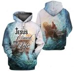 3D All-over Printed - Christian - Jesus Saved my life