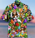 3D Hawaiian Shirt - Easter  Eggs Hunt